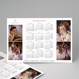 Calendrier Professionnel Loisirs Pro Blanc