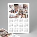 Calendrier Monopage 2020 Damier