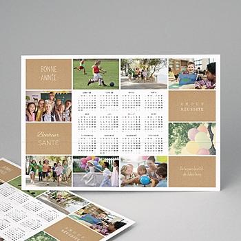 Créer soi même calendrier monopage diaporama annuel