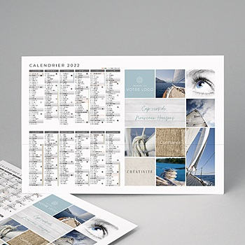Calendrier photo entreprise 2020 - Cap Nouvel An - 1