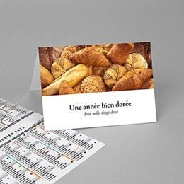 Calendrier Professionnel Loisirs Voeux Boulanger