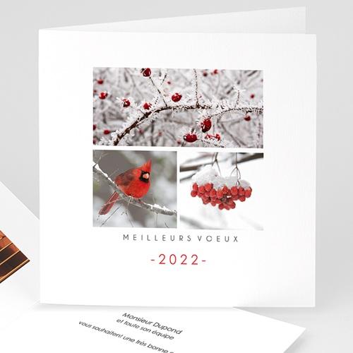 Carte de Voeux Professionnelle - Paysage d'hiver 35473 thumb