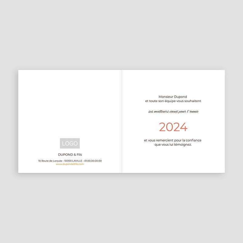 Carte de Voeux Professionnelle - Noel épicé 35486 thumb