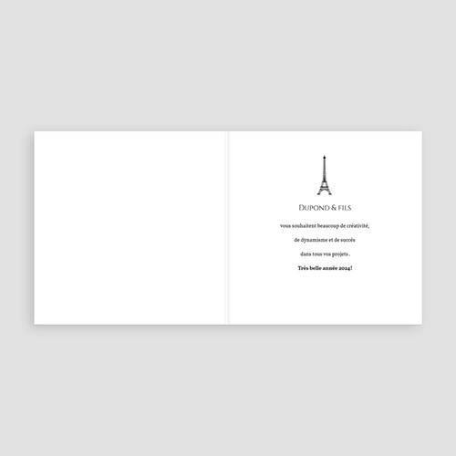 Cartes de Voeux Professionnels - Paris Kraft 35516 thumb