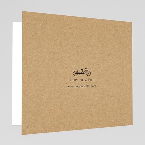 Cartes de Voeux Professionnels - Paris Kraft 35517 thumb