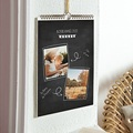 Calendrier Mural multi photo effet ardoise