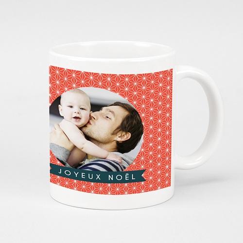 Mug Personnalisé - Rose Noel 35754