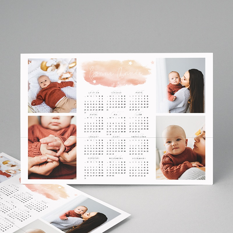 Calendrier Monopage 2020 Souvenirs de Noel