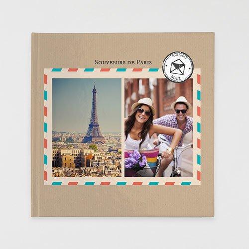 Livre-Photo Carré 30 x 30 Carnet de Voyage