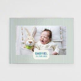 Livre photo Bébé Un monde bleu