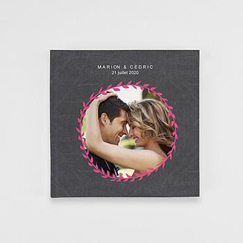 Acheter livre-photo carré 20 x 20 mariage ardoise