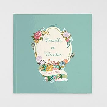 Acheter livre-photo carré 30 x 30 mariage bohème