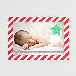 Livre photo Bébé Noel étoilé