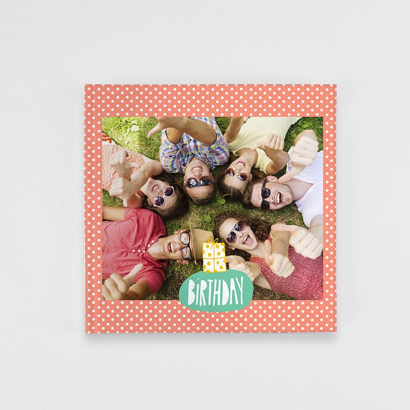Livre Photo Carré 20 x 20 Birthday Colours
