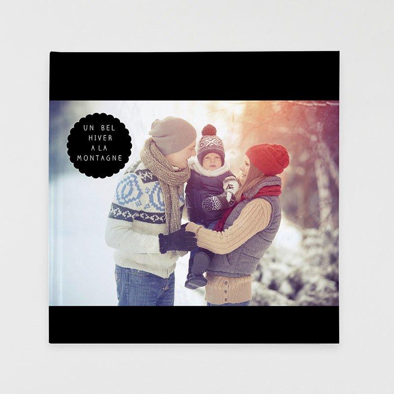 Livre Photo Carré 30 x 30 Luxe noir
