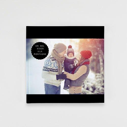 Livre-Photo Carré 20 x 20 - Luxe noir 35872