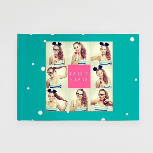 Univers livre photo Anniversaire Flashy