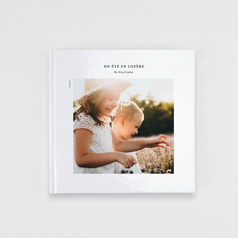 Livre Photo Carré 20 x 20 Douceur blanche