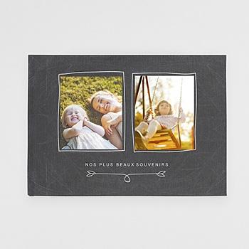 Livre Photo A4 Paysage - Famille Ardoise - 1