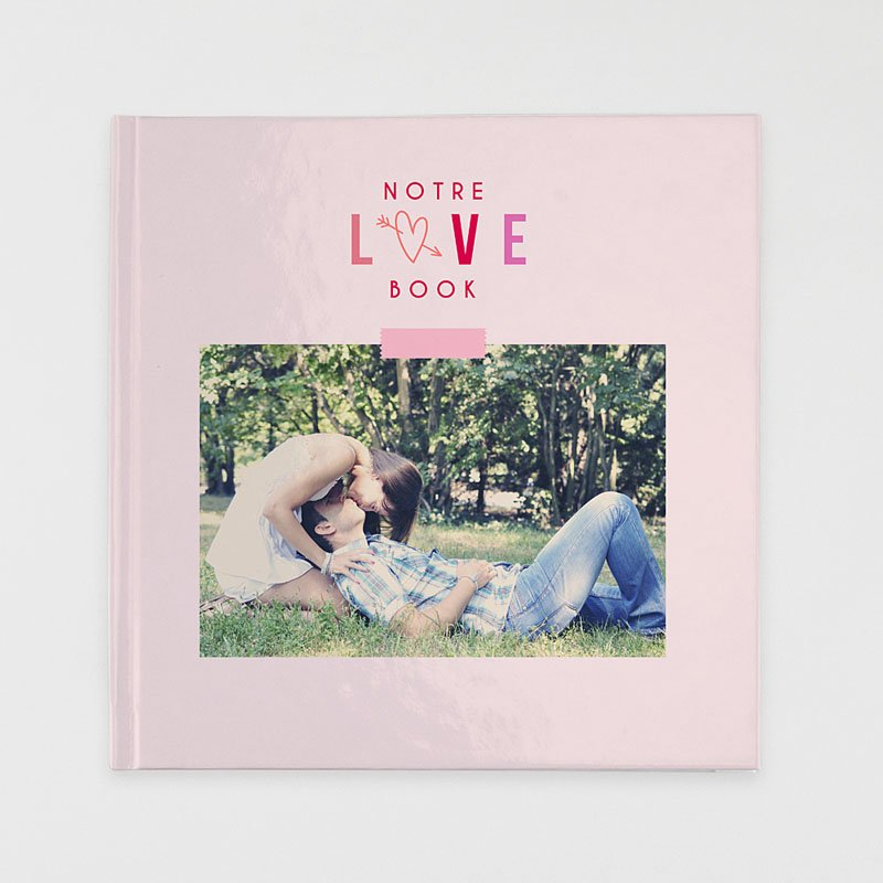 Livre Photo Carré 30 x 30 Saint Valentin