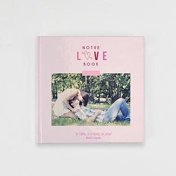 Livre-photo carré 20 x 20 fête des amoureux