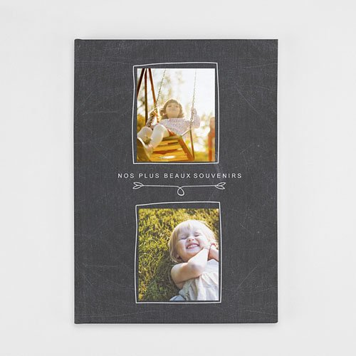 Livre Photo A4 Portrait Famille Ardoise