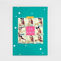 Livre-Photo A4 Portrait - Anniversaire Flashy - 1