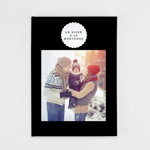 Livre Photo A4 Portrait Luxe noir