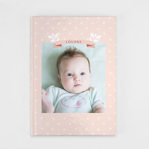 Livre-Photo A4 Portrait - Un monde rose 35903