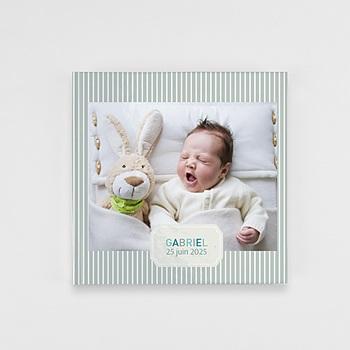 Livre Photo Carré 20 x 20 - Un monde bleu - 1