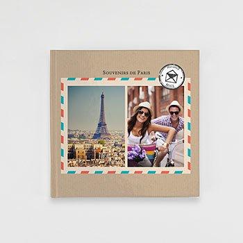 Livre Photo Carré 20 x 20 - Carnet de voyage - 1