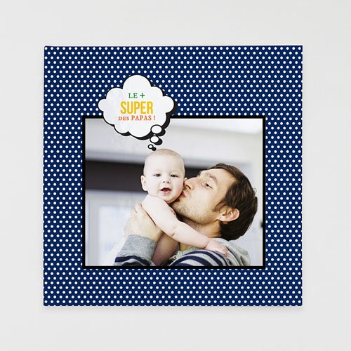 Livre-Photo Carré 30 x 30 Mon père ce Héros