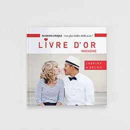 Livre-Photo Carré 20 x 20 - Rouge magazine - 1