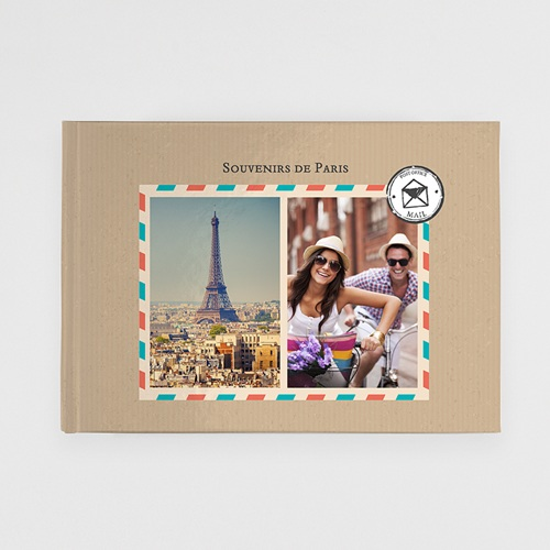 Livre Photo A4 Paysage Carnet de voyage