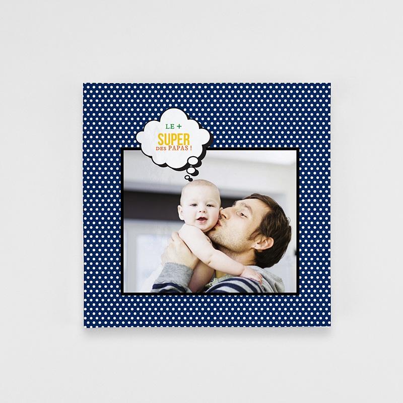 Livre-Photo Carré 20 x 20 Mon papa, my Hero