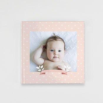 Livre Photo Carré 20 x 20 - Un monde rose - 1