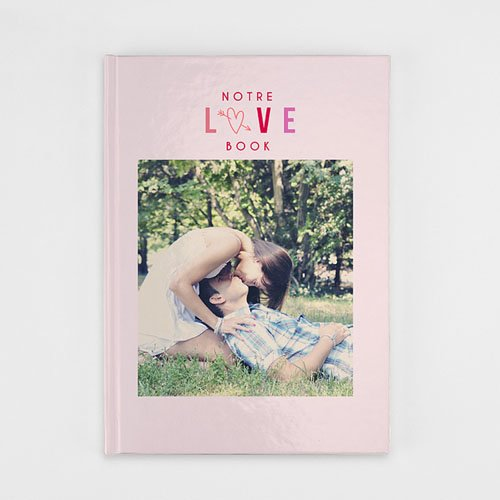 Livre-Photo A4 Portrait Saint Valentin
