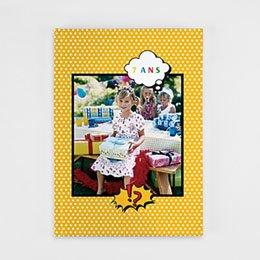Livre-Photo A4 Portrait - Super Anniversaire - 1