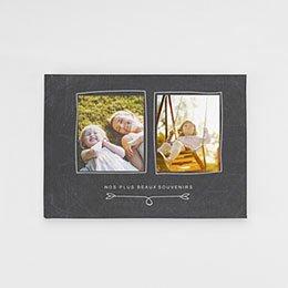 Livre photo Classique Famille Ardoise