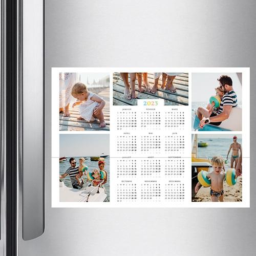 Calendrier Monopage - Arc-en-ciel de couleurs - mural 36350 preview
