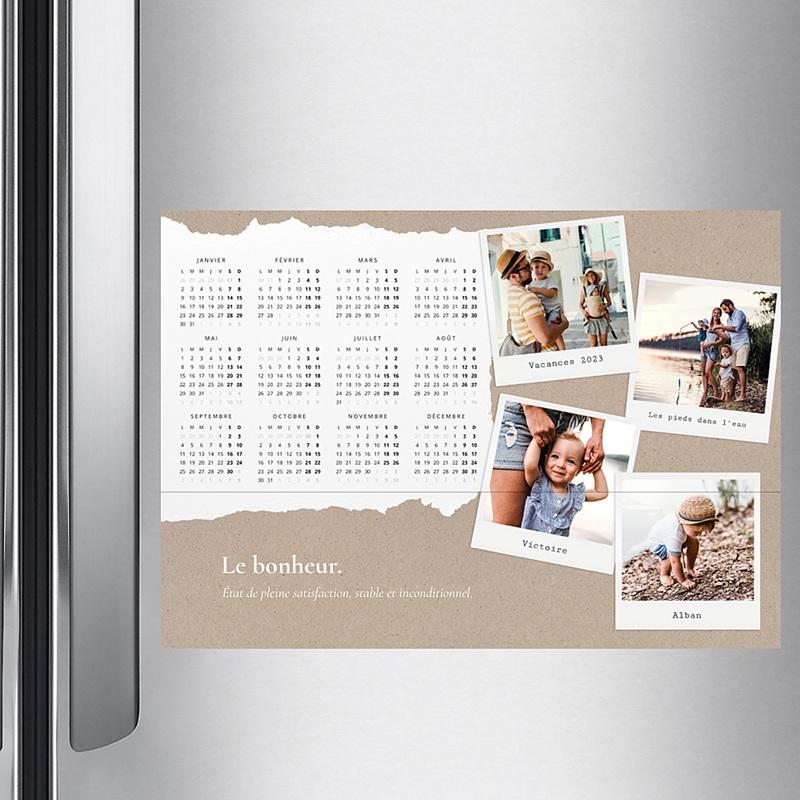 Calendrier Monopage Photo de famille - A3 pas cher