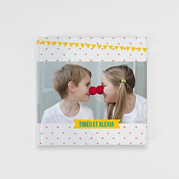 Livre Photo Carré 20 x 20 - Une histoire de famille - 0