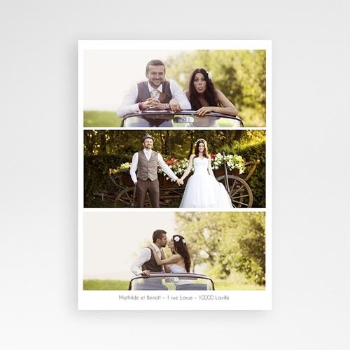 Remerciements Mariage Personnalisés On se marie ! pas cher