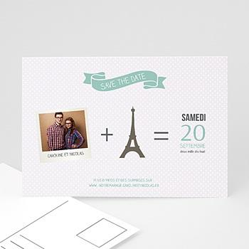 Save-The-Date - Paris Tour Eiffel - 0