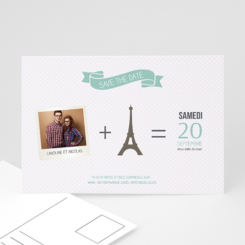 Save-The-Date - Paris Tour Eiffel 36566