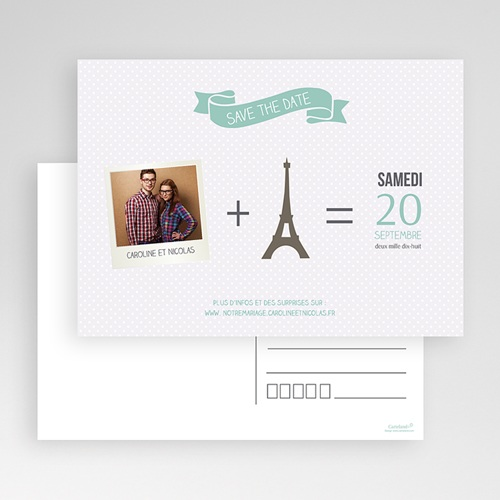 Save-The-Date - Paris Tour Eiffel 36568 preview