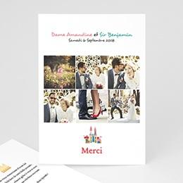 Remerciements Mariage Personnalisés - Marche Nuptiale - 0
