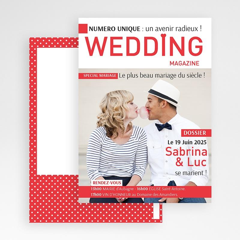 Faire Part Mariage Original - Wedding Magazine 36599 thumb