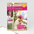 Faire-Part Mariage - Marions-nous - 3533