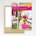 Faire-Part Mariage - Marions-nous 36605 thumb